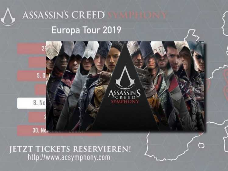 Assassin's Creed Symphony: Tour gastiert nach Düsseldorf auch in Berlin