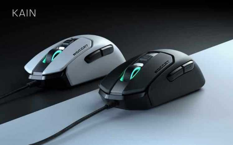 The new Roccat Gaming Rat is available in a black and a white version. Photo: Roccat