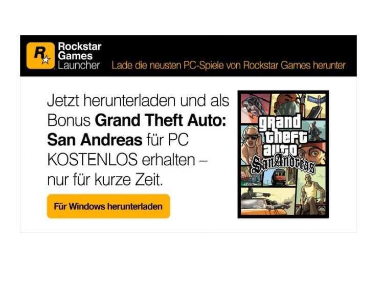 GTA kostenlos spielen: San Andreas gibt es mit dem neuen Rockstar-Launcher gratis