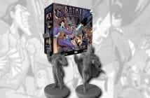Batman: The Animated Series Adventures – Shadow of the Bat wird am 18. Februar auf Kickstarter laufen. Bild: IDW Games