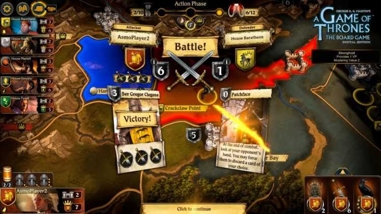 Spiele News A Game of Thrones  The Board Game Digital Edition Screenshot 3 scaled