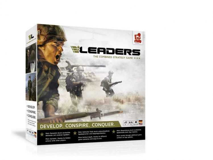 Innovatives Brettspiel im Test: Leaders – a combined Game