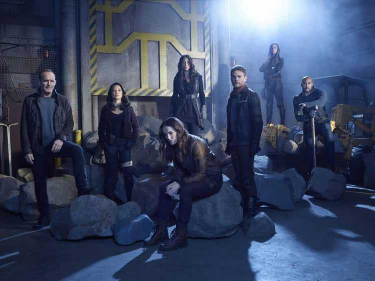 Marvel's Agents of S.H.I.E.L.D. ist eine actionreiche Superhelden-Serie. Bild: Disney.