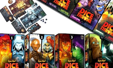 Dice Throne: Deutsche Version im Crowdfunding-Endspurt